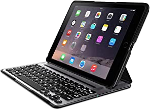 Belkin QODE Ultimate Pro Keyboard Case for iPad Air 2 (Panel is black and the back case is grayish silver)