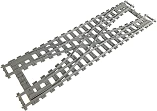 Trixbrix Double Crossover R104, Compatible with Lego Train, 3D Printed!
