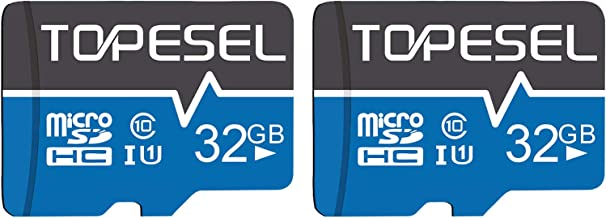 Sponsored Ad - TOPESEL 32GB Micro SD Card 2 Pack Memory Cards Micro SDHC UHS-I TF Card Class 10 for Cemera/Drone/Dash Cam(...