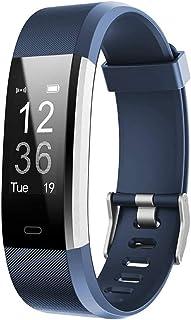 Letscom Fitness Tracker HR Reloj de seguimiento de actividad