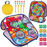 Animal Bean Bag Toss Game Toy Outdoor Toss Game,Family Party Party Supplies for Kids, Gift for Boys Birthday or Christmas for Toddlers Ages 3 4 5 6 Year Old