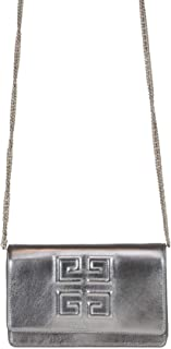 Luxury Fashion | Givenchy Womens MCGLBRE000006057I Silver Shoulder Bag | Season Outlet