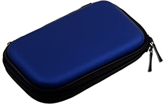 "SODIAL(R)ポータブルなハードディスクドライブのジッパーカバー、2.5"" HDDバッグ青い"