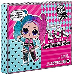 25 SURPRISES INSIDE - Unbox 25 surprises with L.O.L. Surprise! O.M.G. Outrageous Millennial Girls Fashion doll, Dollie, and her sister, Dollface. EXCLUSIVE DOLL - Includes an exclusive L.O.L. Surprise! #OOTD doll who is ready to strut her stuff. LOTS...