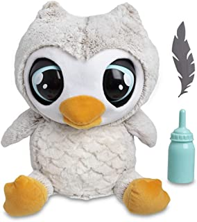 FAO Schwarz 1005694 Hoots The Interactive Animated Talking Owl Automatic Electronic Robotic Touch-Activated Doll Plush, 13...