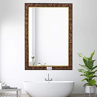 Creative Arts n Frames Decorous Fibre Wood Made Bathroom Wall Mirror (1, 15 x 21)