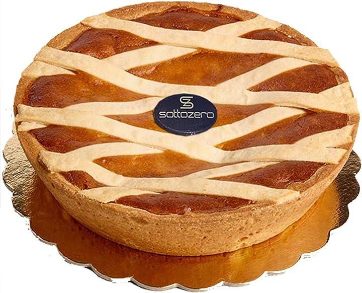 Pastiera napoletana  pasticceria sottozero   altissima qualità artigianale   dolce tipico partenopeo   1,5 kg B088PZ1DKF