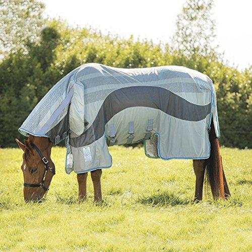 Horseware Amigo Evolution Fliegendecke Ekzemerdecke Silver/ Dark Grey (130)