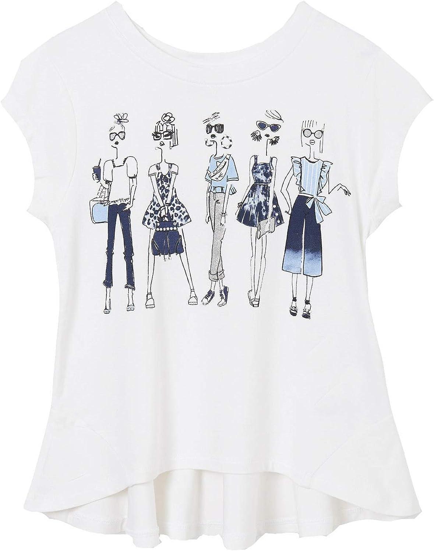 Mayoral - S 2020秋冬新作 s Girl 期間限定の激安セール for White-Dark Girls t-Shirt 6005