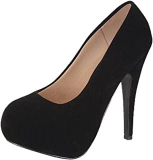 Women's Sunset-89 Suede Closed Toe Dress Pumps