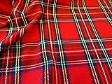 UK Fabrics Online - Tartan royal de Stewart Tissu (au mètre)