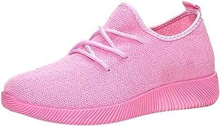 OHQ Zapatillas De Boca Corta Transpirables Zapatillas De Gimnasia para Mujer Zapatillas De Neopreno De Color Naranjas con ...