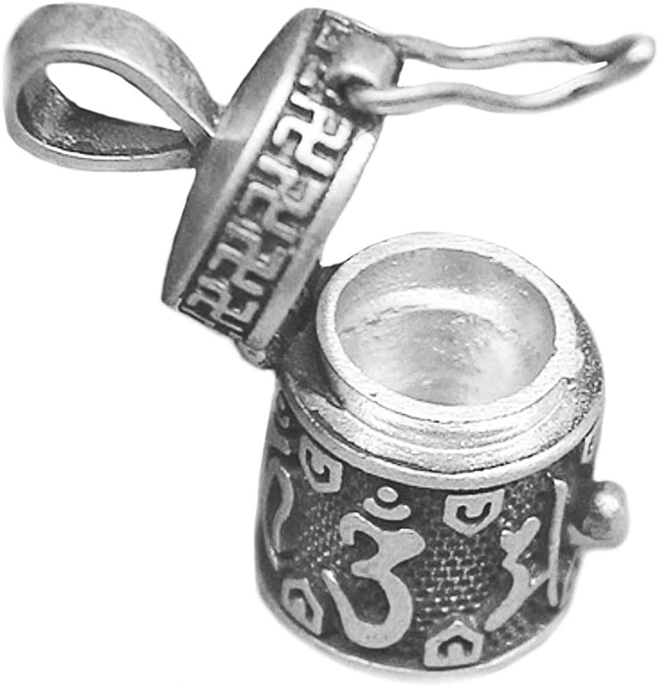 Helen de Lete Vintage Secret Pill Case 925 Indefinitely store Little Sterlin Bottle