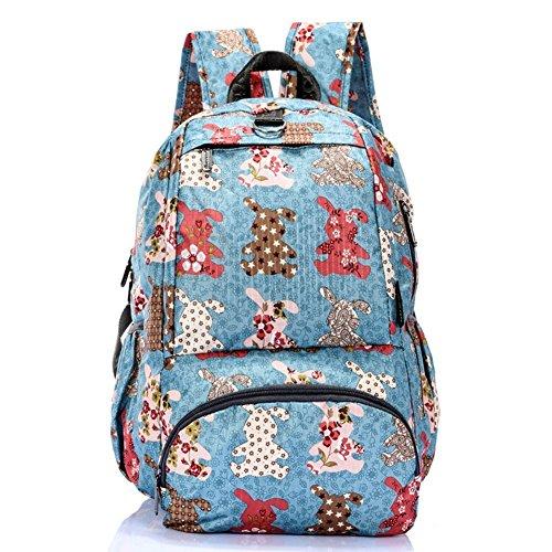 Sincere® Fashion Backpack / Zipper Sacs à dos / Rue mode / Multifonction / Mode schoolbag / loisirs sac à main / polyester sac-4 imperméable à l'eau