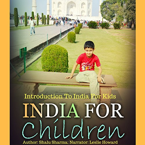 India for Children audiobook cover art