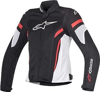 Alpinestars Women's Stella T-GP Plus R v2 Air Jacket (Small) (Black/White/RED)