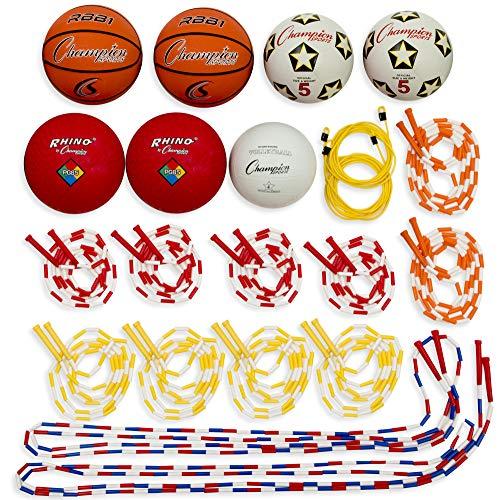 Champion Sports Physical Education Variety Playground Activity Set