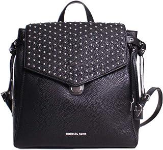 MICHAEL MICHAEL KORS Bristol Medium Studded Leather Backpack - BLACK