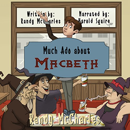 Much Ado About Macbeth audiobook cover art