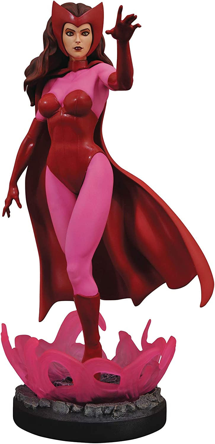 DIAMOND SELECT TOYS Marvel Premier Collection  Scarlet Witch Resin Statue