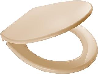 RIDDER 02101111 Toilet Seat Miami, Ecru, Polypropylène, 44,7 x 37,2 x 4,9 cm