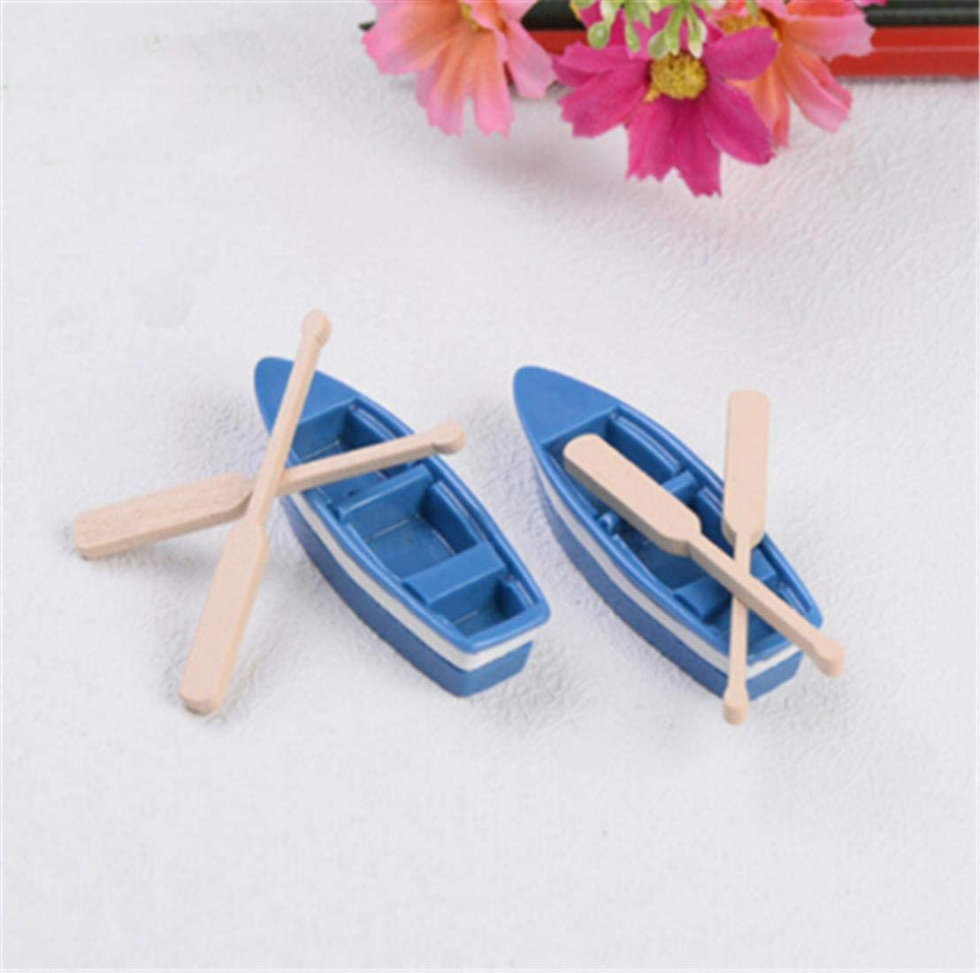 1 Set Small Boat 5 ☆ Shipping included popular and DIY Material Paddle Bryophyt Ornament