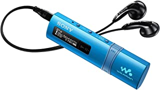 Sony NWZ-B183F B183F Flash MP3 Player with Built-in FM Tuner (4GB) - Blue