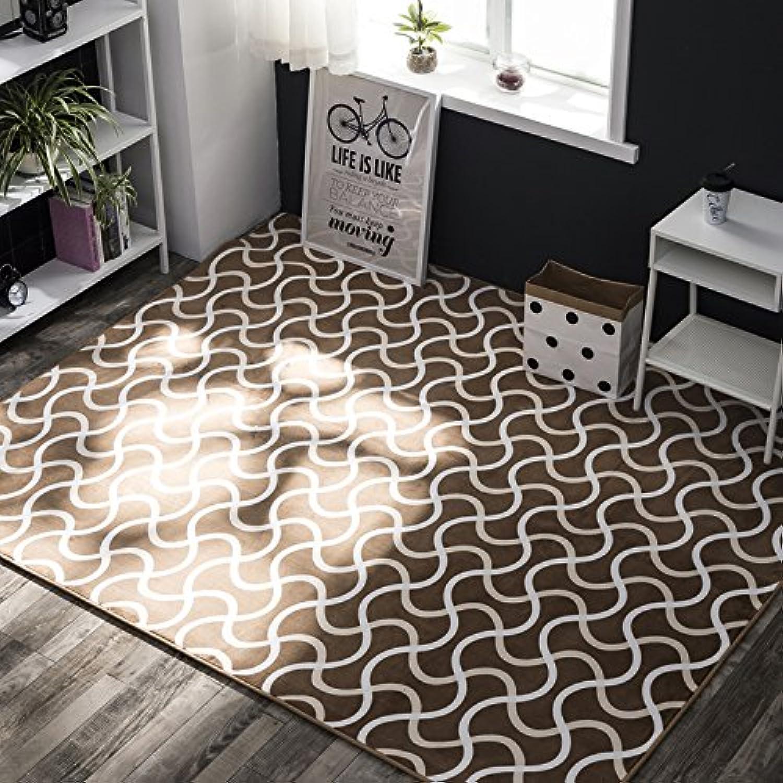 Simple door mat table mat, sofa mat bedroom bedside rug rectangular pad-K-85x195cm(33x77inch)