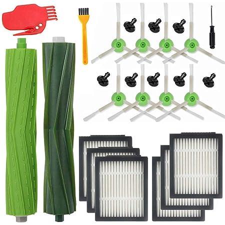 Kits de 10 Piezas // i7 Plus E5 E6 E7 Aspiradora Kit de Mantenimiento Kit de Limpieza escobillas Filtro repuestos Supon Kit de Repuesto Accesorios para Robot i7 i7