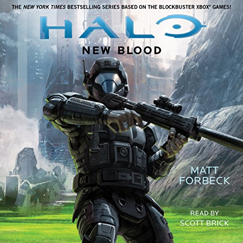 Halo: New Blood audiobook cover art