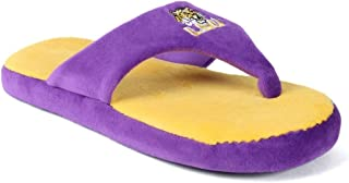 NCAA College Comfy Flop - Officially Licensed - Happy Feet Mens and Womens
