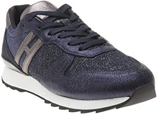 HOGAN Retro Runner Womens Sneakers Blue