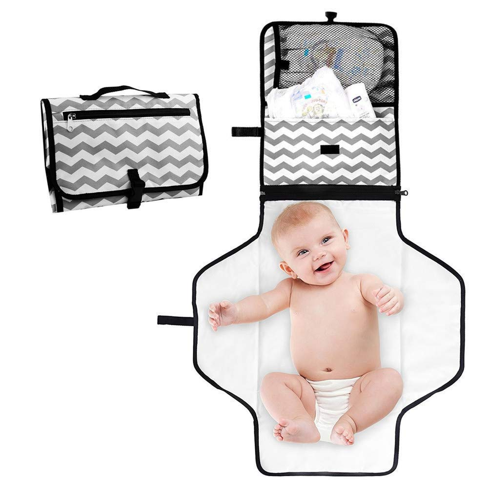 Yillsen Portable Waterproof Baby Great interest Changing Pad Diaper Kit In a popularity