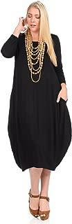 Women's Cocoon Midi Dress Plus Size