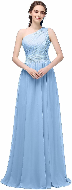 Ever Girl Women's Chiffon Long Bridesmaid Gowns