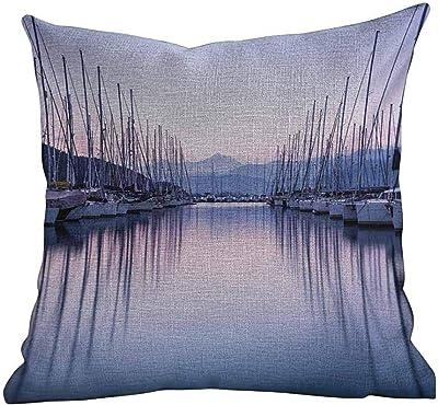 Amazon.com: MoonRest - Set of 2 Microfiber Decorative Pillow ...