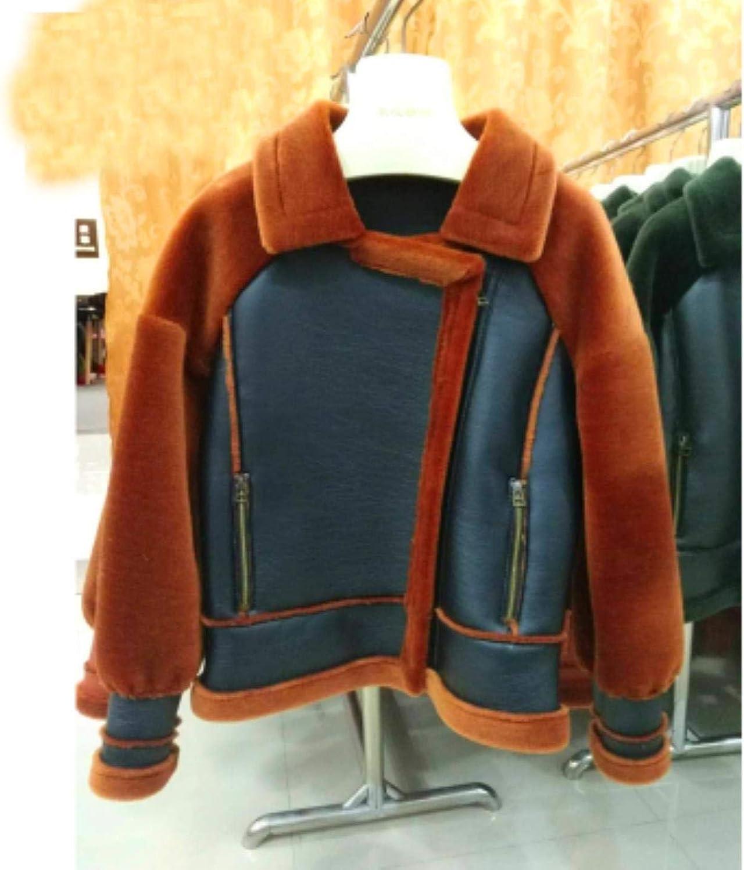 CEfwAyjv Winter Jacket Women Parka Real Sheep Fur Wool Liner Parkas
