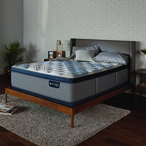 Best Buy! Serta Icomfort Icomfort Hybrid 15 Blue Fusion 4000 Plush Pillow Top Bed Mattress Conventi...