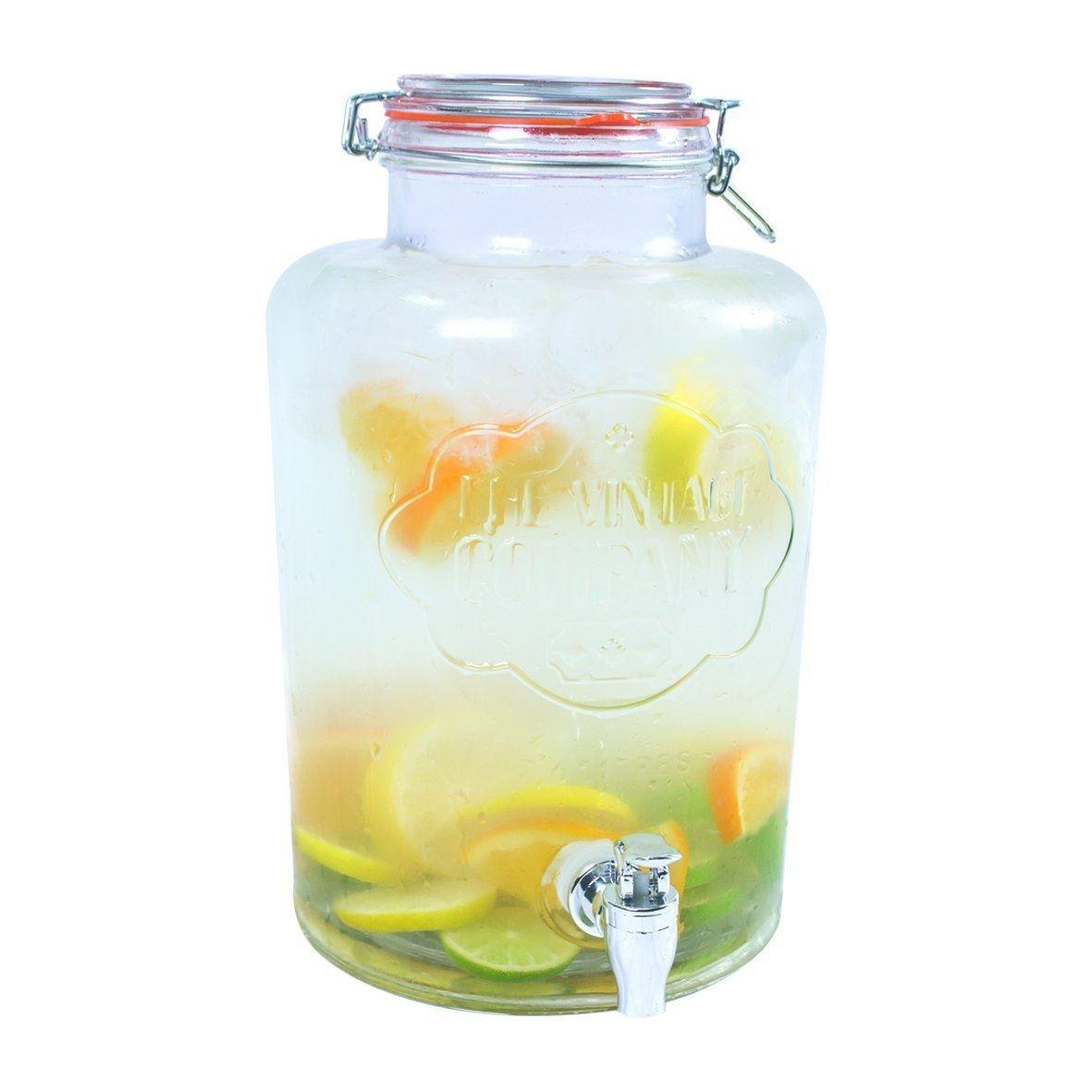 Unibos Large 7.6Litter Glass Jumbo Jar W- Buy Online in Malta at Desertcart