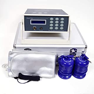 FB401E Ionic Detox Foot Bath System with Infrared, Tub Basin, Liners, Arrays and Cleaning Supplies + by HEALTHandMED