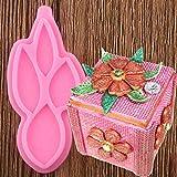 N/ A Genähte Blätter Silikonformen Blume Cupcake Topper Fondant Kuchen Dekorationswerkzeuge Candy...