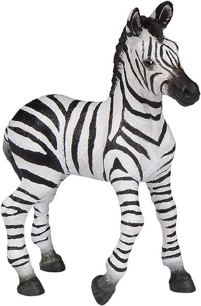 Papo Zebra Foal Figure Multicolor