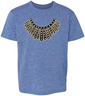 RBG I Dissent Jabot Collar Ruth Bader Ginsburg Toddler Kids Girl Boy T-Shirt
