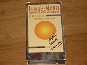 Slipcase signed by Kenny Werner!! EFFORTLESS MASTERY Liberating the Master Musician Within by Kenny Werner - 1998 Seminar at the New York IAJE (International Association of Jazz Educators). VHS Videocassette (NTSC)