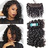 Udu brésilien vagues d'eau Cheveux Lots 3 pièces Ocean Wave humide et ondulée Bundle Deals 100 EXTENSIONS DE CHEVEUX HUMAINS Tissage Remy Hair Lots 50g/bundle (8 8 8+8)