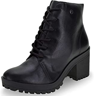 VIA MARTE womens Chunky Platform Heels