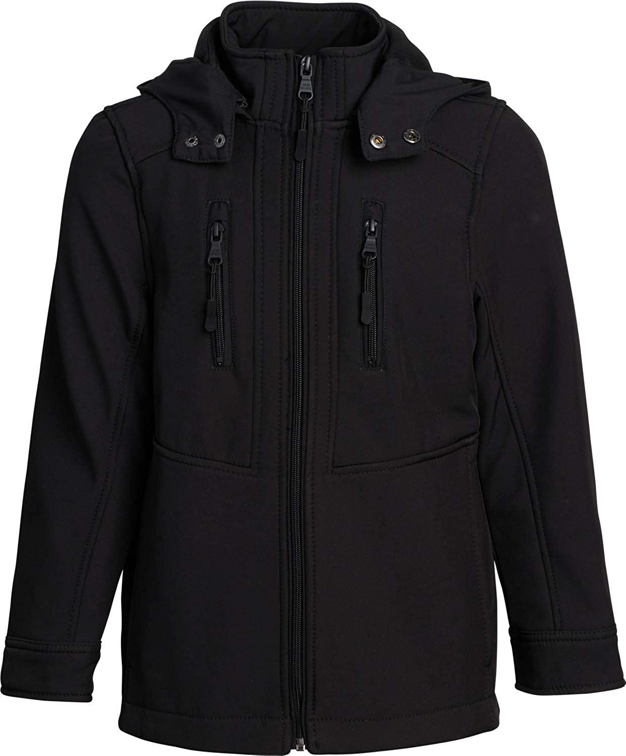 URBAN REPUBLIC Boys' Jacket Chicago Mall - Lightweight R Shell with Coat Soft safety