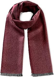Lagom Alpaca Scarf - 100% Premium Baby Alpaca Wool - Micro Chevron with Eyelash Fringe Edge - Unisex