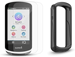Garmin Edge 1030 Cycle Bundle | with Bike Mounts, PlayBetter Silicone Case & Screen Protectors | GPS Bike Computer, Navigation (GPS Only, Black Case)