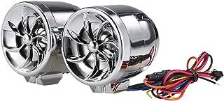 KKmoon Motorrad Audio Musik Player Motorrad Lenker Audio Musik Lautsprecher Wasserdicht Anti Diebstahl Alarm Unterstützung FM USB TF AUX Navigation